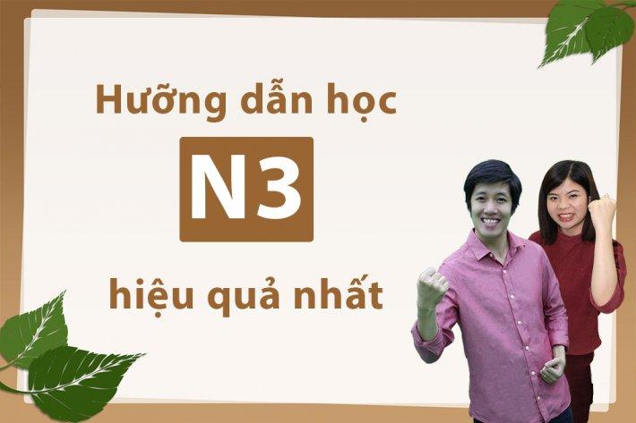 Hướng dẫn học N3