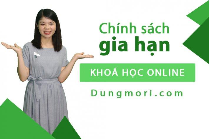 Chính sách gia hạn khóa học Online