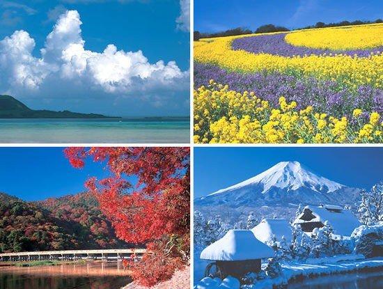 日本の四季 (Bốn mùa Nhật Bản)