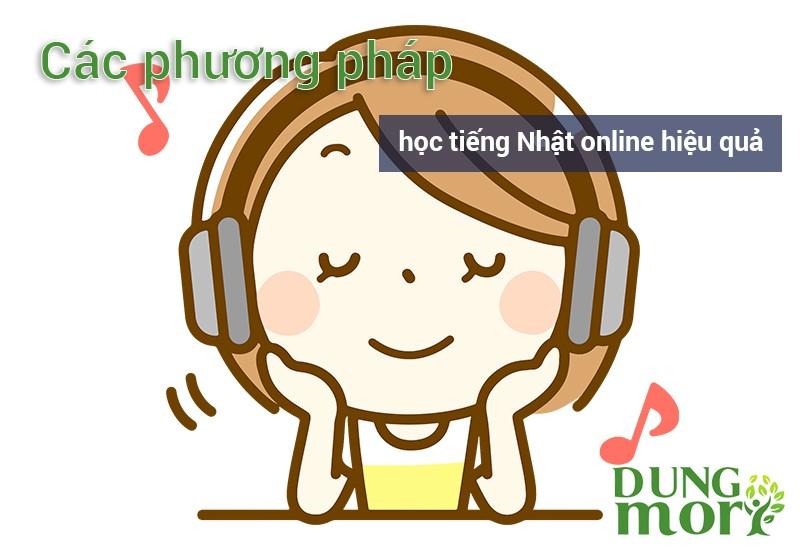Các phương pháp học tiếng Nhật online hiệu quả