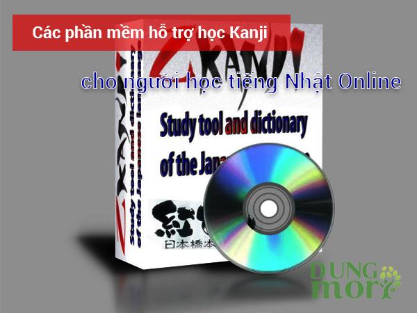 Các phần mềm hỗ trợ học Kanji cho người học tiếng Nhật online