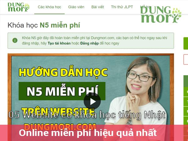 5 website có khóa học tiếng Nhật Online miễn phí hiệu quả nhất hiện nay