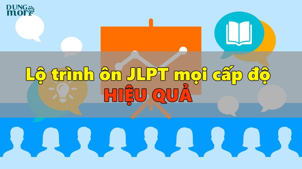 Lộ trình ôn JLPT mọi cấp độ hiệu quả