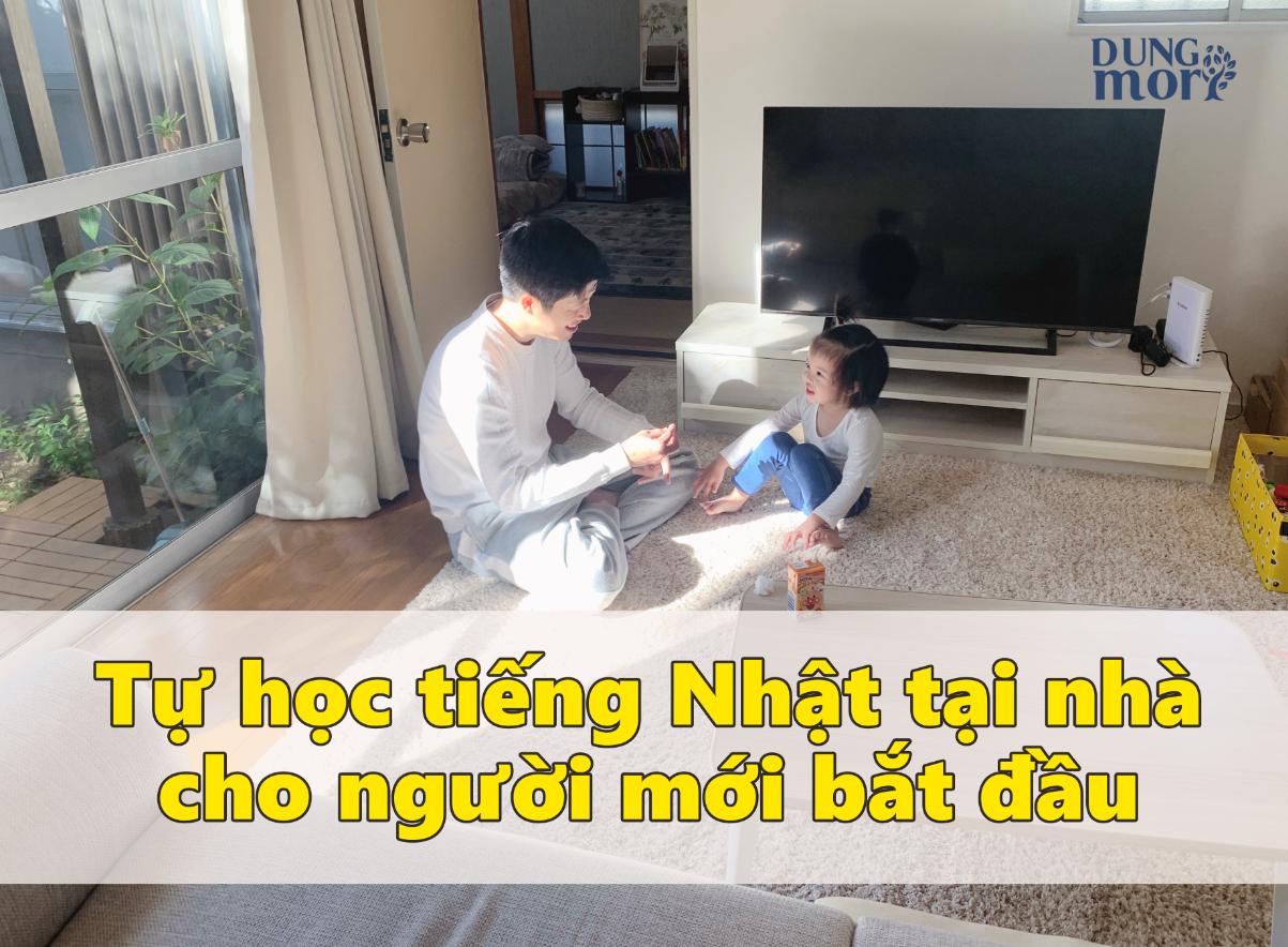 Tự học tiếng Nhật tại nhà cho người mới bắt đầu