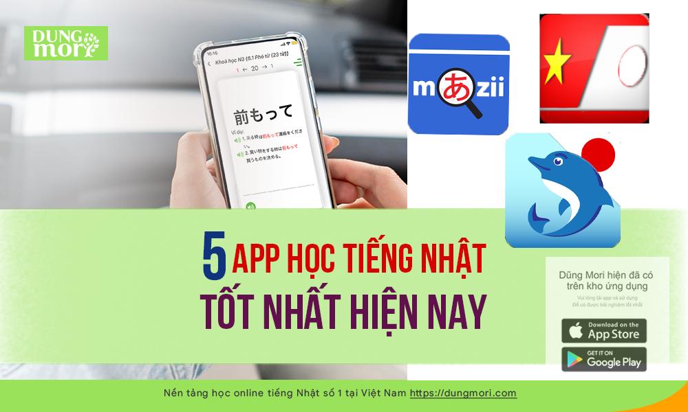 5 app học tiếng Nhật tốt nhất hiện nay